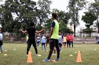 Carman-School-Activity-football